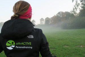 6:45 Uhr Personal Training im Englischen Garten, München - nicht jedermanns Sache